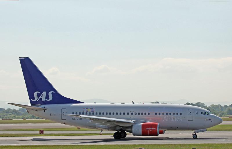 SE-DTH B737-600 (MAN) SAS Scandinavian Airlines