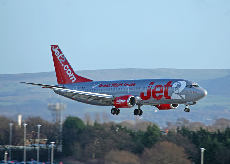 G-CELC B737-300 (MAN) Jet 2