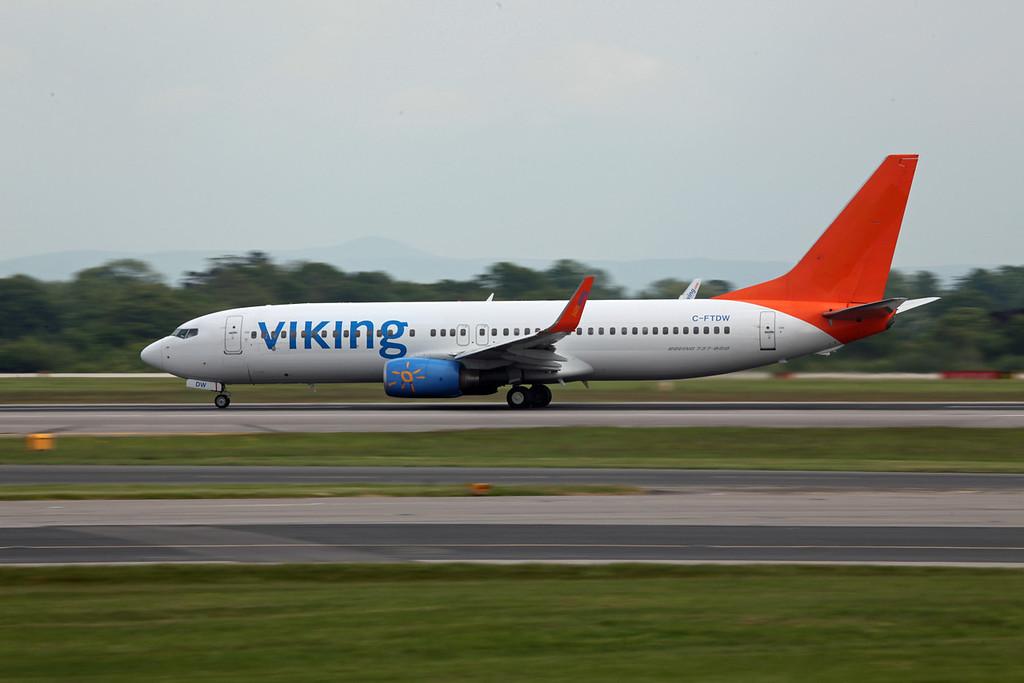 C-FTDW B737-800 (MAN) Viking (on loan from Sunwings)