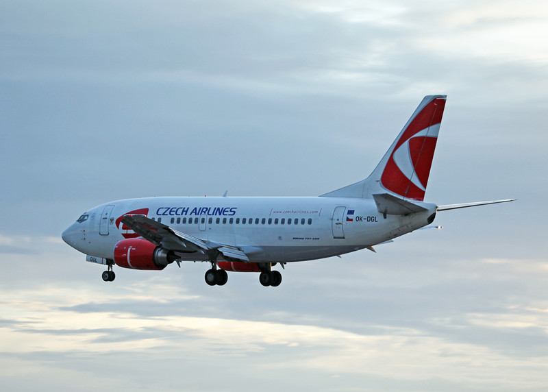 OK-DGL B737-500 (MAN) Czech Airlines 2