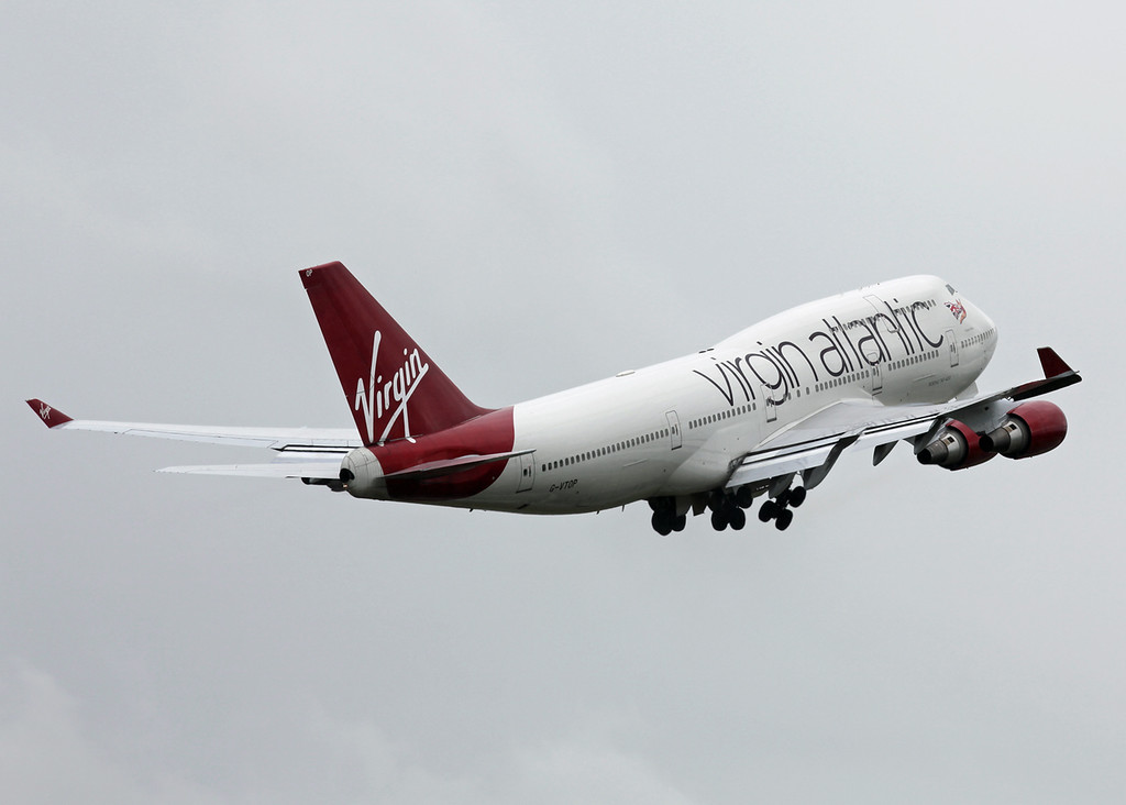 G-VTOP Boeing B747-400 (MAN) Virgin Atlantic