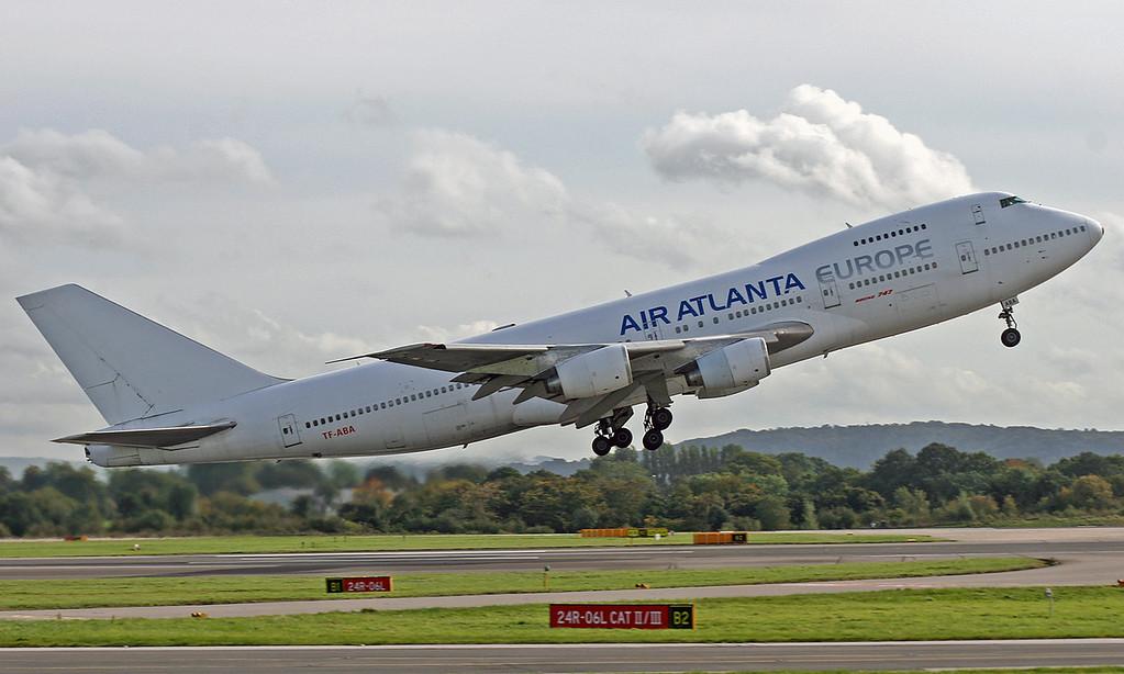 TF-ABA Boeing B747-267B (MAN) Air Atlanta Europe