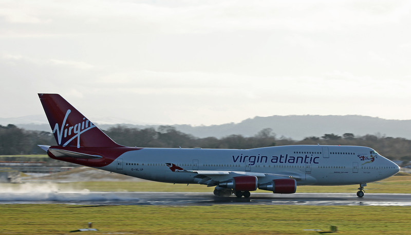 G-VLIP B747-400 [Hot Lips] (MAN) Virgin Atlantic