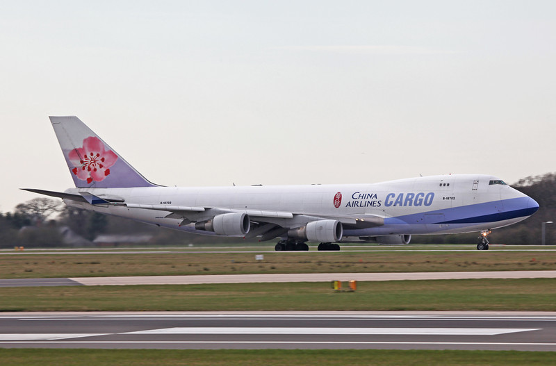 B18702 B747-409F (MAN) China Airlines Cargo