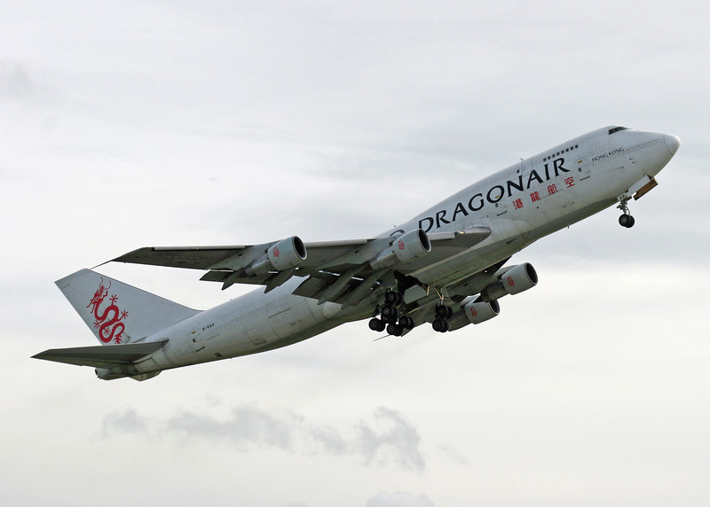 B-KAA Boeing B747-312F (MAN) Dragonair Cargo