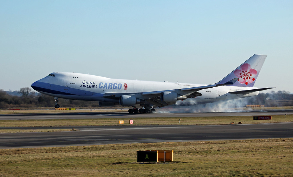 B18718 B747-409F (MAN) China Airlines Cargo