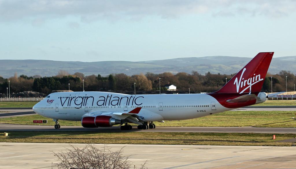 G-VXLG Boeing B747-400 (MAN) Virgin Atlantic