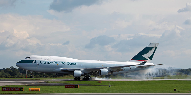 B-HKX B747-412BCF (MAN) Cathay Pacific 2