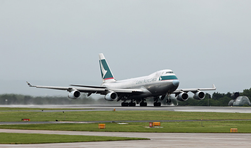 B-HUO Boeing B747-467F (MAN) Cathay Pacific Cargo