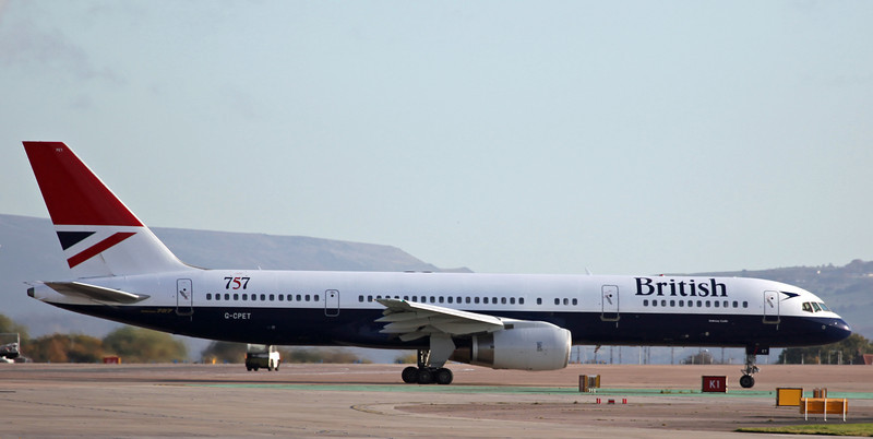 G-CPET B757-200 (MAN) British Airways