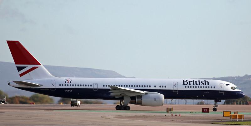 G-CPET B757-200 (MAN) British Airways