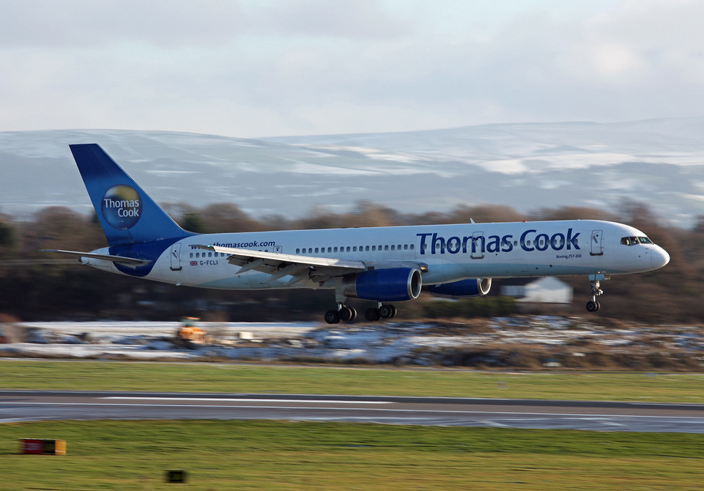 G-FCLI B757-28A (MAN) Thomas Cook