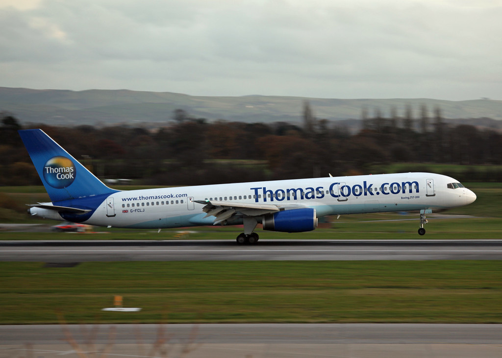 G-FCLJ B757-2Y0 (MAN) Thomas Cook