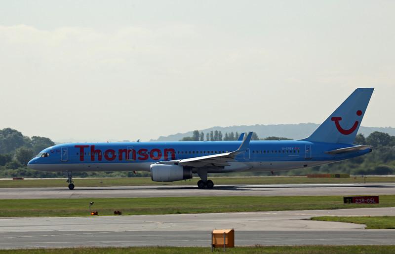 G-CPEV B757-200 (MAN) Thomson