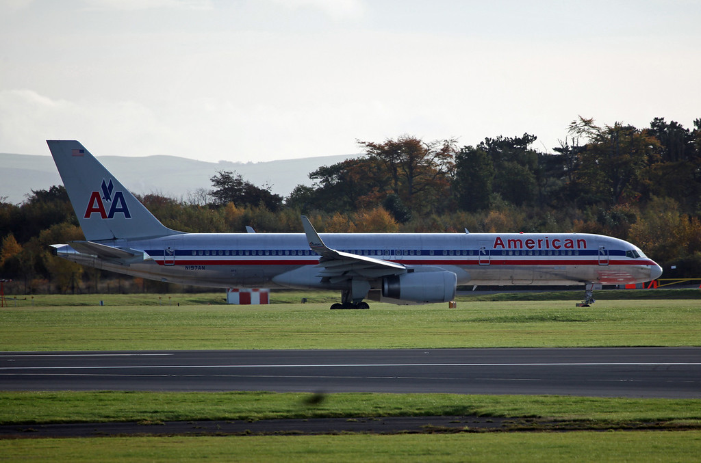 N197AN B757-200 (MAN) American Airlines