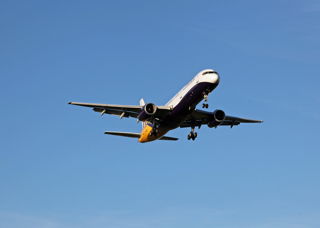 G-MONJ Boeing B757-2T7 (Manchester) Monarch Airlines