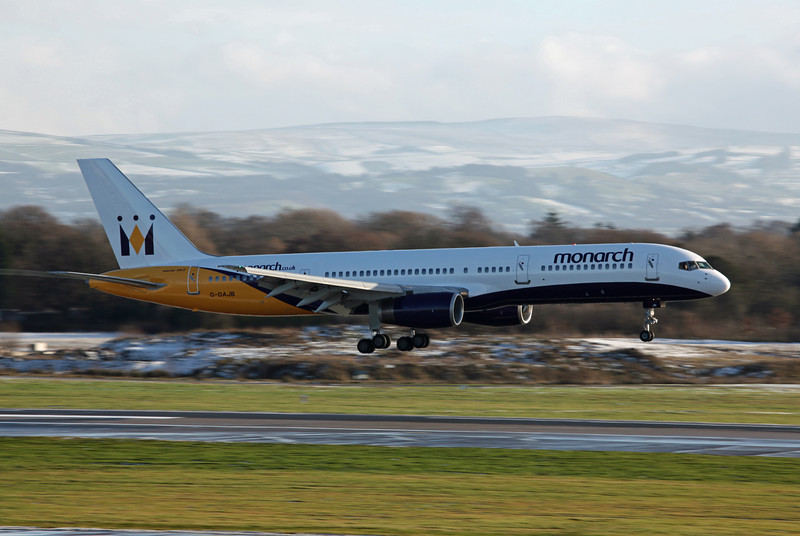 G-DAJB B757-2T7 (MAN) Monarch