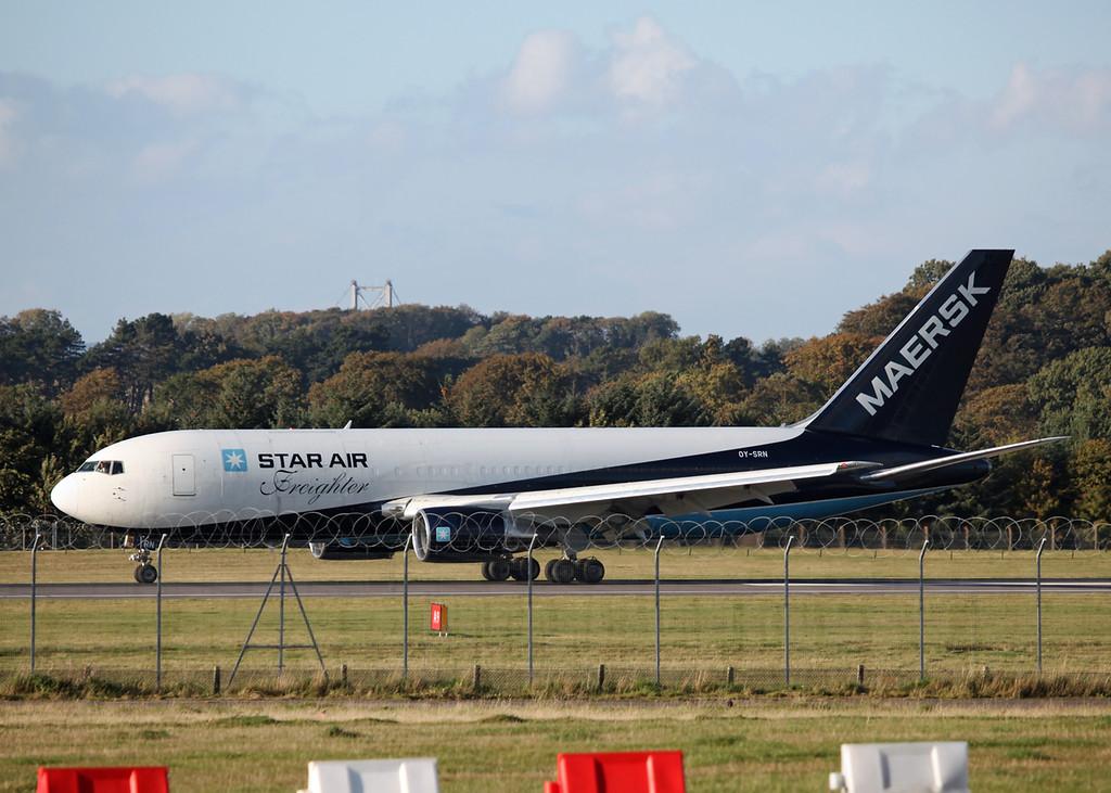 OY-SRN Boeing B767-219(BDSF) (Edinburgh) Star Air