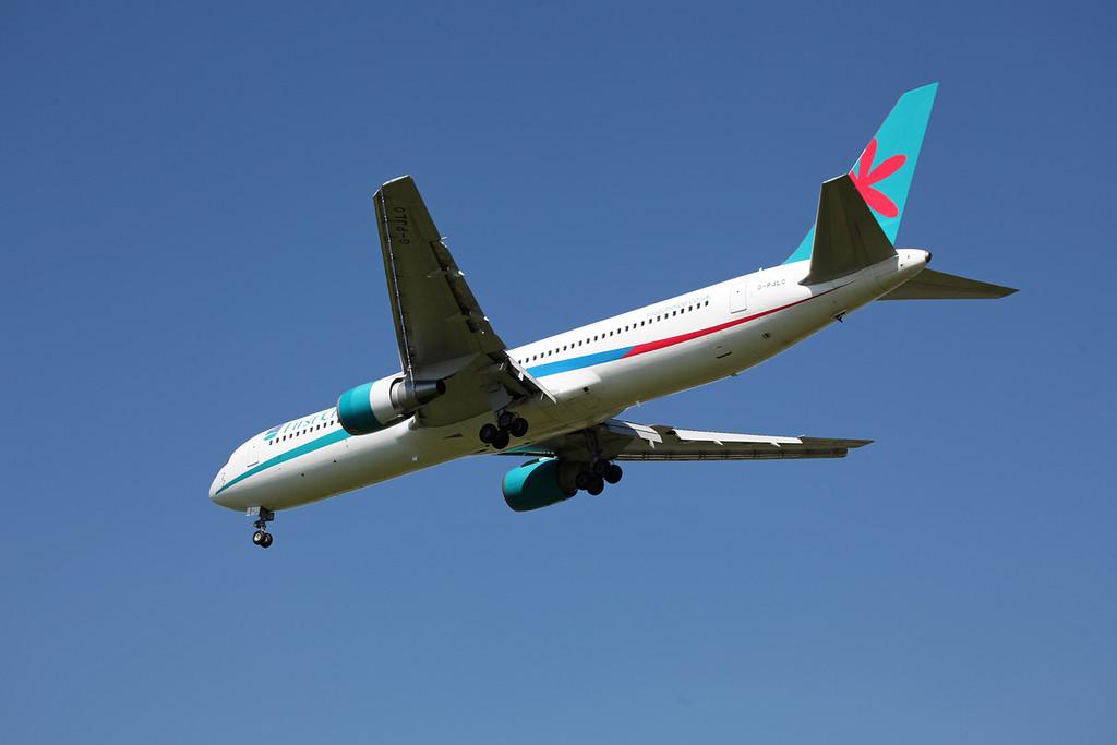 G-PJLO Boeing B767-300 (MAN) Thomson
