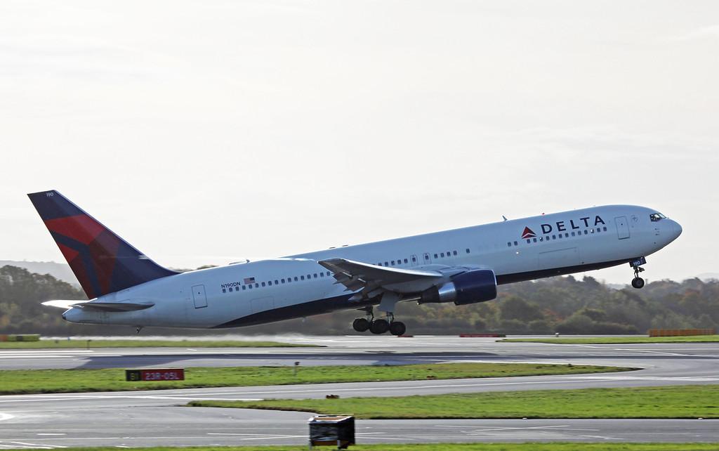 N190DN B767-300 (MAN) Delta Airlines