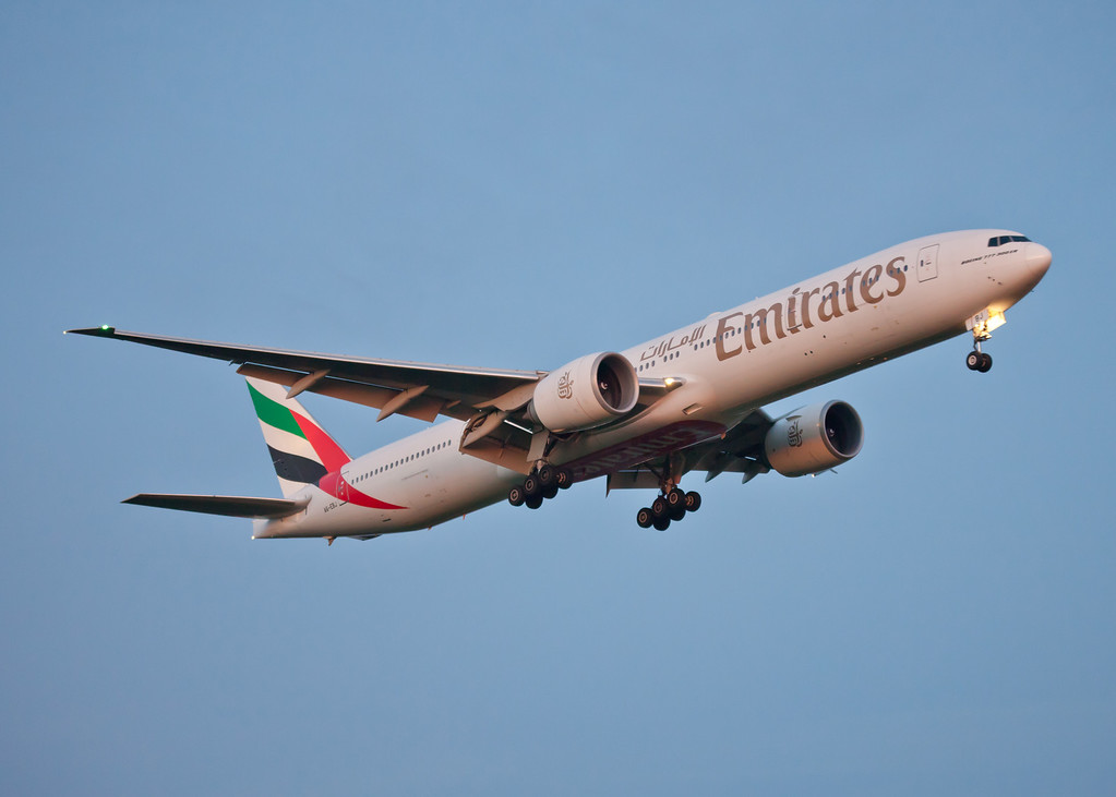 A6-EBJ Boeing B777 (Glagow Arport) Emirates