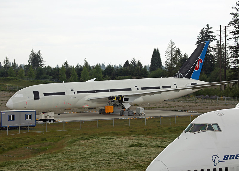 No Reg Boeing B787-800 'Dreamliner' (Boeing Field) China Southern Airlines [No Engines]