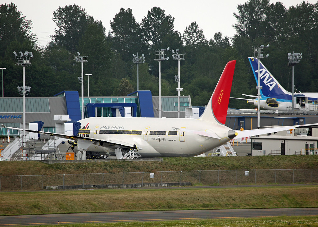 No Reg Boeing B787 'Dreamliner' Japan Airlines [JAL]