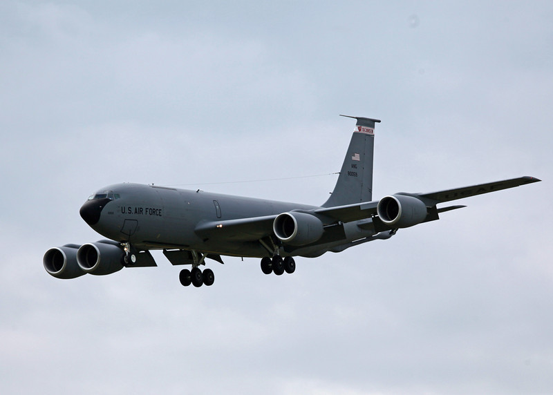 80-059 Boeing KC135 Stratotanker (General Mitchell Airport - Wisconsin) USAF Air National Guard 4