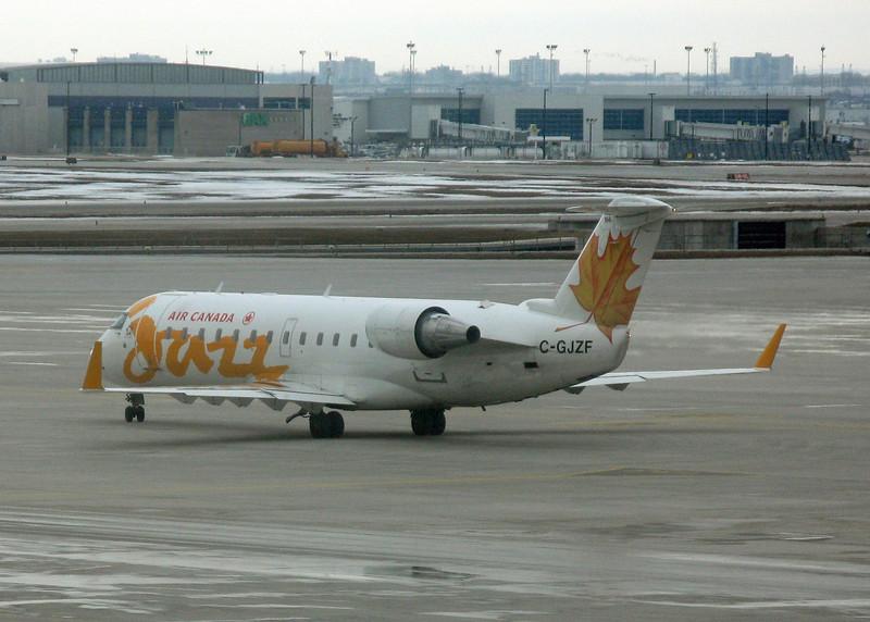 C-GJZF Bombardier CRJ-200ER (Unknown) Air Canada Jazz
