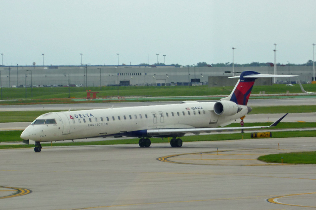N549CA Bombardier CL600-2D24 (Chicago) Delta Connection
