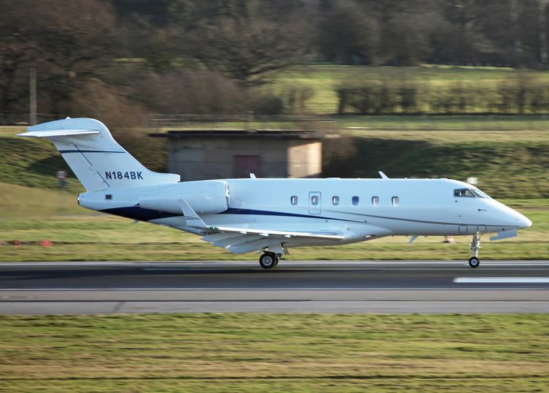 N184BK Bombardier BD-100-1A10 Challenger 300 CL30 (MAN) Latium 3 Inc, Wilmington DE