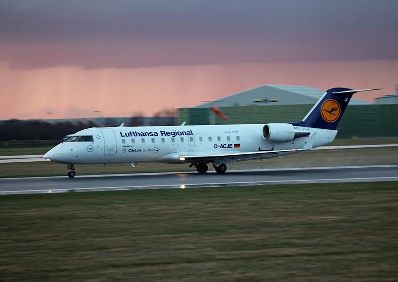D-ACJE CRJ100LR (MAN) Luthansa Regional