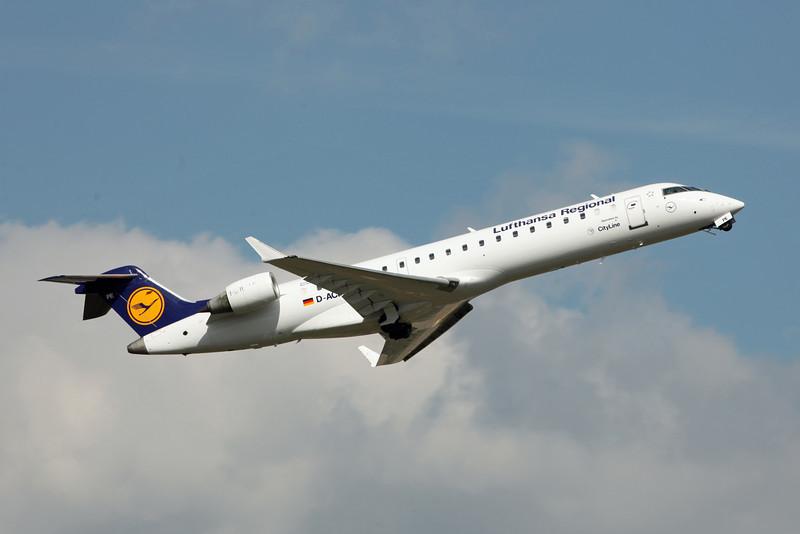 D-ACPE Canadair CL-600-2C10 Regional Jet CRJ-700 (Birmingham) Lufthansa CityLine