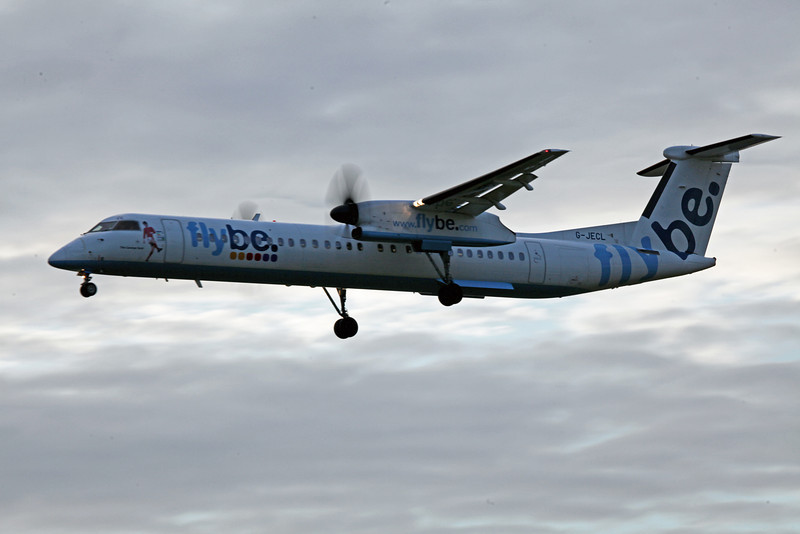 G-JECL DHC-8-402 (MAN) Flybe