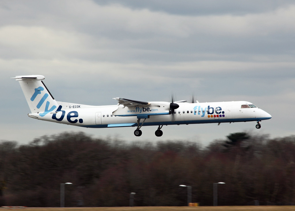 G-ECOK DHC-8-402 (MAN) Flybe