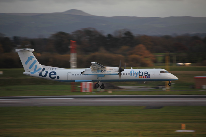 G-ECOH DHC-8-402 (MAN) Flybe