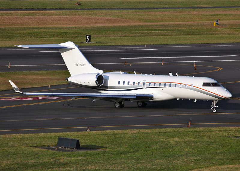 N726AF Bombardier BD-700 Global Express (Portland international Airport, Oregon) Vulcan Aircraft Inc.
