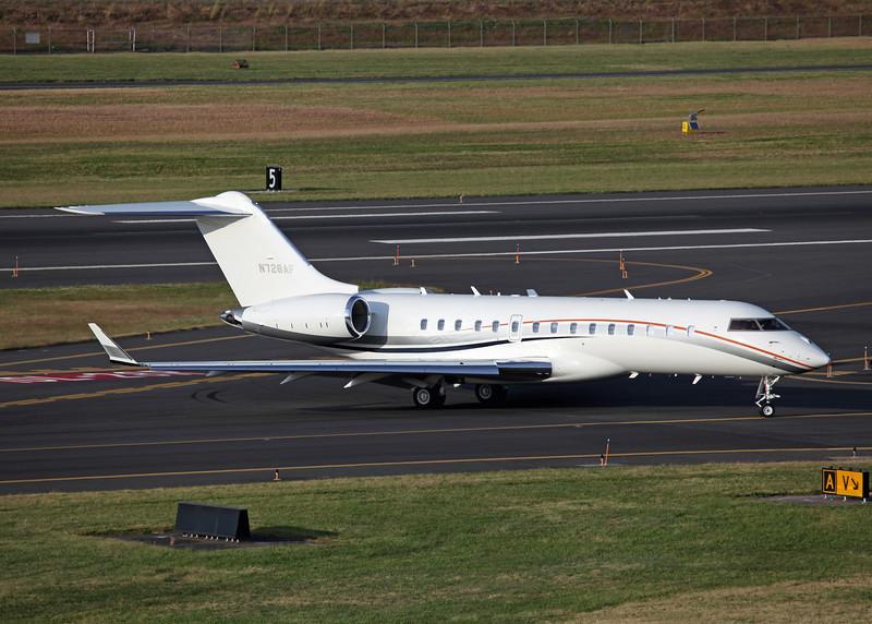 N726AF Bombardier BD-700 (Portland, OR) Vulcan Aircraft Inc 2