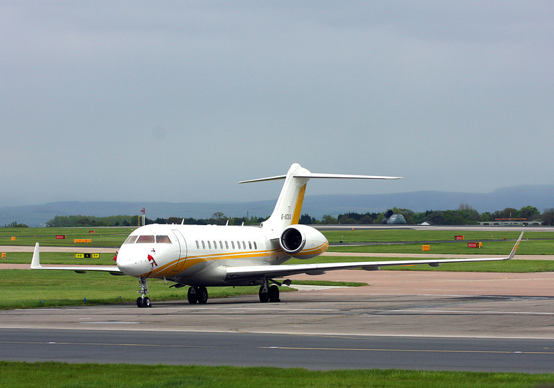 G-OCSA Bombardier BD700 Global 5000 (MAN) Global Trans Holdings Corp