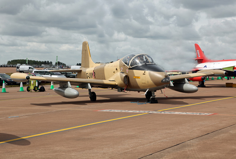 G-UVNR BAC 167 STRIKEMASTER MK87 (RAF Fairford) Gerald Peter Williams (private - RIAT 2010)
