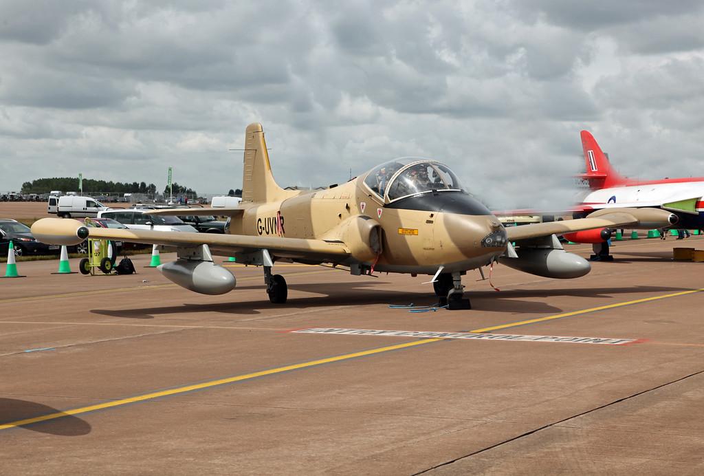 G-UVNR BAC 167 STRIKEMASTER MK87 (RAF Fairford) Gerald Peter Williams (private - RIAT 2010)