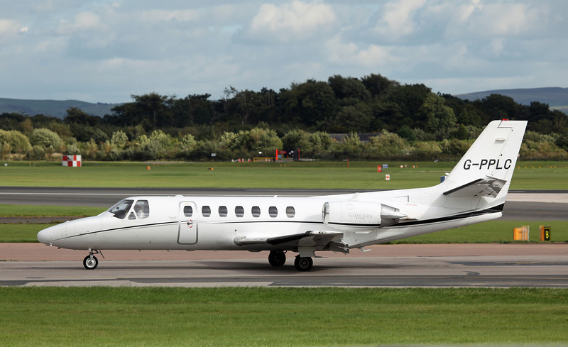G-PPLC Cessna Citation 560 (MAN) Sterling Aviation