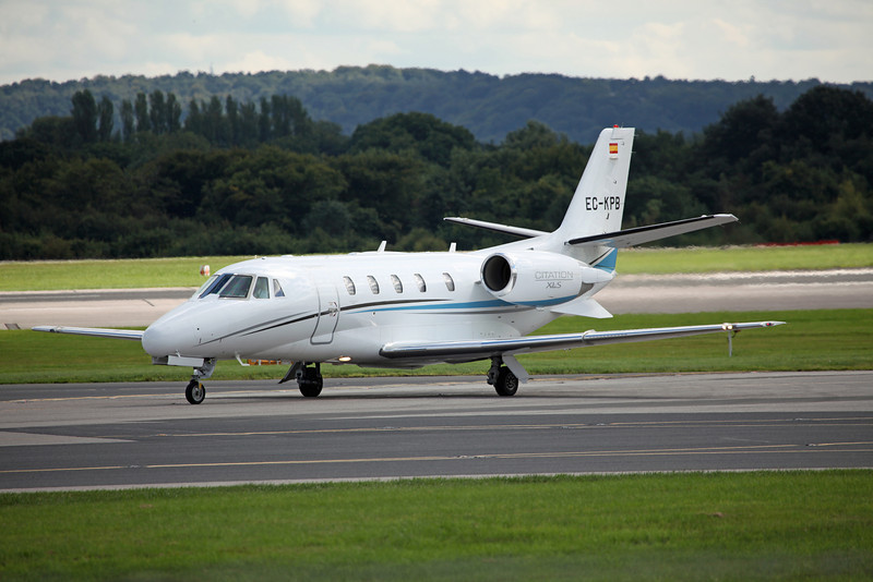 EC-KPB Cessna 560XL Citation XLS C56X 560 (MAN) Jetnova 1