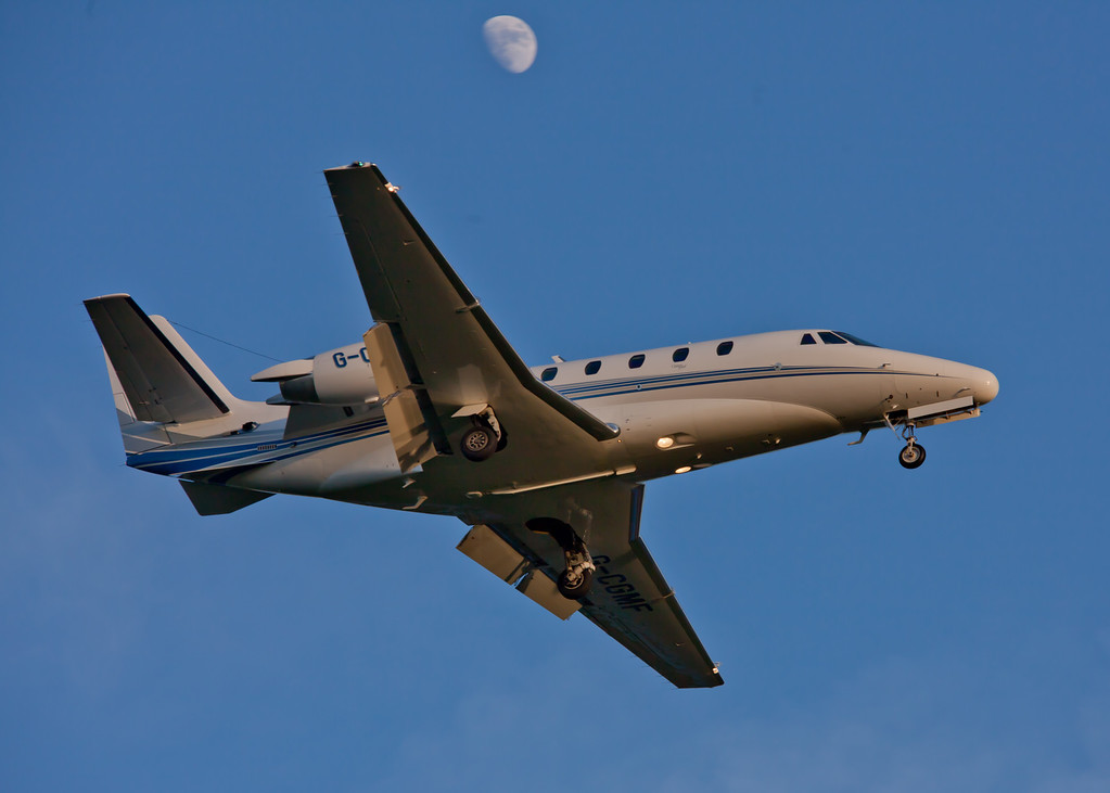 G-CGMF Cessna Citation 560 Excel (Glasgow Airport) Multi-Flight Charter Services