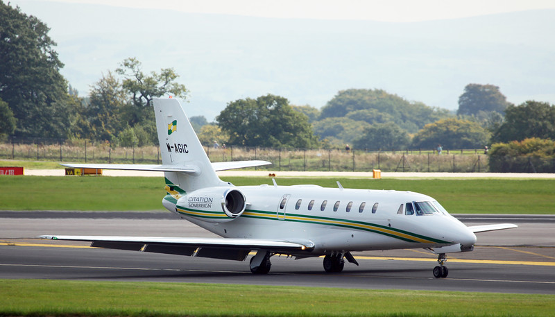 M-AGIC Cessna Citation Soverign 680 (MAN) Trust Air Ltd - Westair Flying Services Ltd