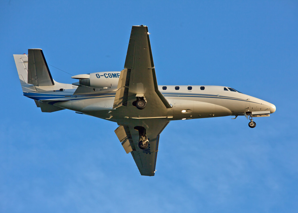 G-CGMF Cessna Citation 560 Excel (Glasgow Airport) Multi-Flight Charter Services [2]