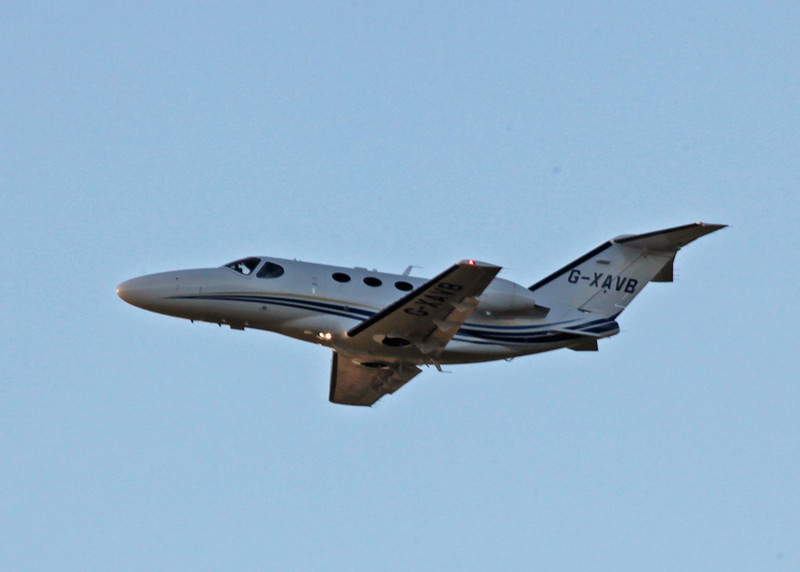 G-XAVB Cessna 510 Citation Mustang (Edinburgh) Aviation Beauport Limited