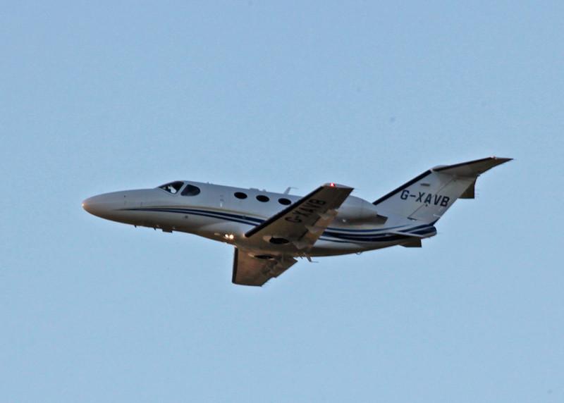 G-XAVB Cessna 510 Citation Mustang (Edinburgh) Aviation Beauport Limited