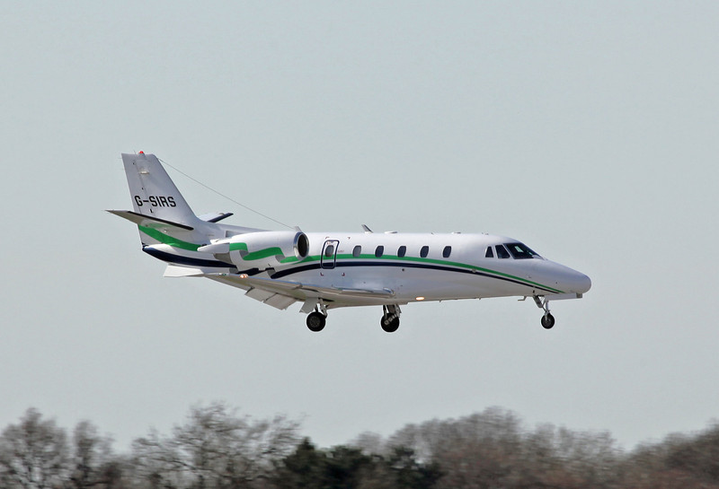 G-SIRS Cessna 560XL Citation Excel