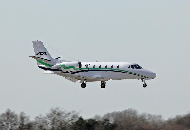 G-SIRS Cessna 560XL Citation Excel